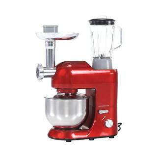 Kuchynský robot 1800 W 5 l červená/chróm KANTE