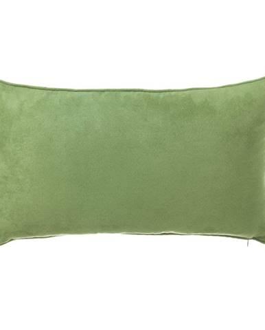 Zelený vankúš Unimasa Loving, 50 x 30 cm