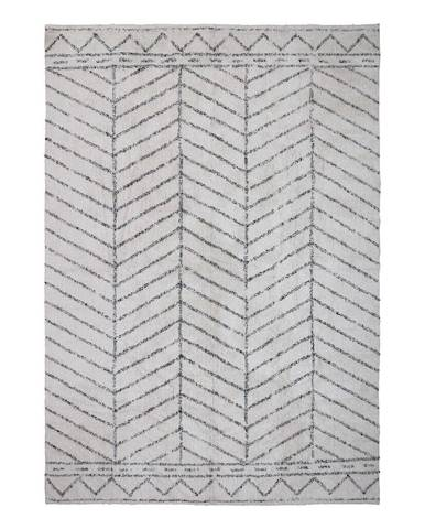 Svetlosivý koberec Bloomingville Cotton, 200 x 300 cm