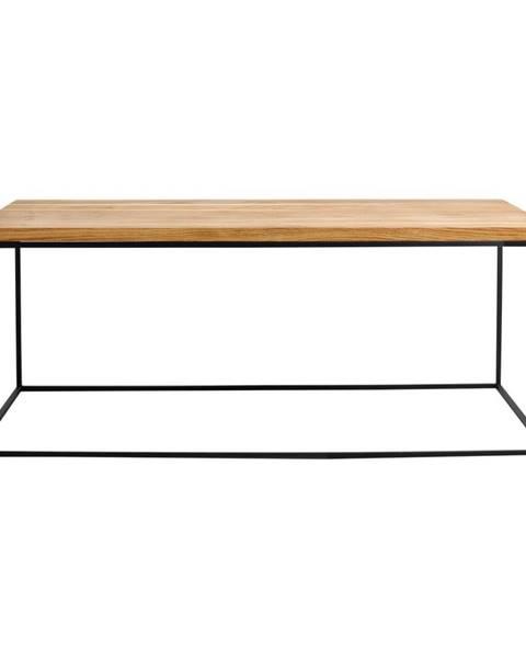 Custom Form Konferenčný stolík s čiernou konštrukciou Custom Form Tensio, 100 x 60 cm