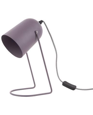 Fialová stolová lampa Leitmotiv Enchant