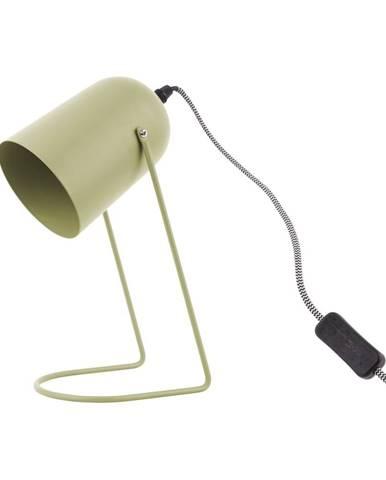 Olivovozelená stolová lampa Leitmotiv Enchant