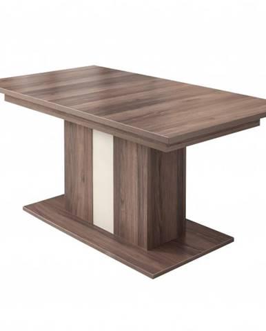 Jedálenský stôl ZENO orech/čadič