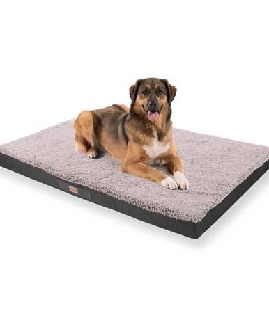 Brunolie Balu, pelech pre psa, vankúš pre psa, možnosť prania, ortopedický, protišmykový, priedušná pamäťová pena, veľkosť XXL (140 × 10 × 100 cm)