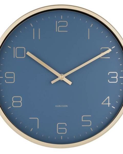 Karlsson Karlsson 5720BL dizajnové nástenné hodiny, pr. 30 cm