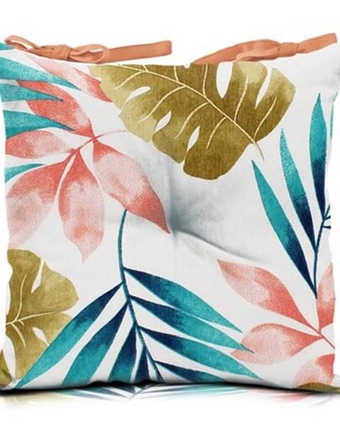 Domarex Domarex Sedák Pink Leaves, 45 x 45 cm