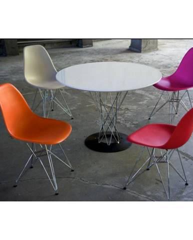 ArtD Jedálenský stôl Cyklon inšpirovaný Cyclone biela