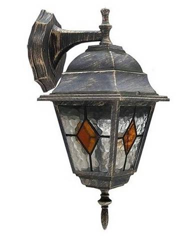 Vonkajšie nástenné svietidlo Rabalux Monaco 8181 antická zlatá