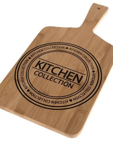 Servírovacia bambusová doštička Kitchen, 40 x 20 x 1,5 cm