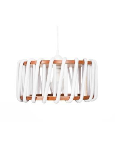 Biele stropné svietidlo EMKO Macaron, 30 cm