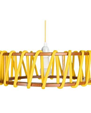 Žlté stropné svietidlo EMKO Macaron, 45 cm