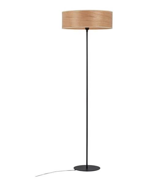 Sotto Luce Stojacie svietidlo s objímkou z dreva čerešne Sotto Luce TSURI XL