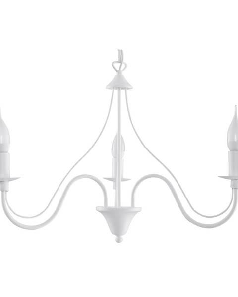 Nice Lamps Biele stropné svietidlo Nice Lamps Floriano 3