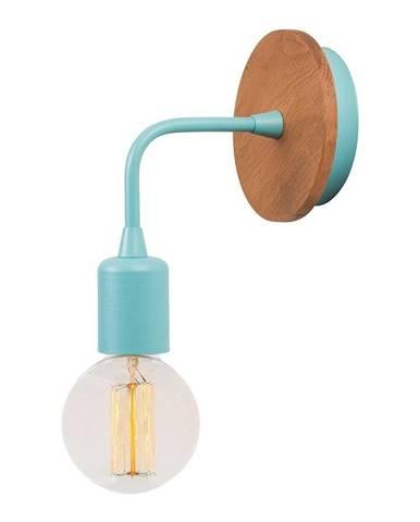 Modré nástenné svietidlo Homemania Decor Simple Drop