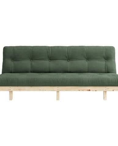 Variabilná pohovka Karup Design Lean Raw Olive Green
