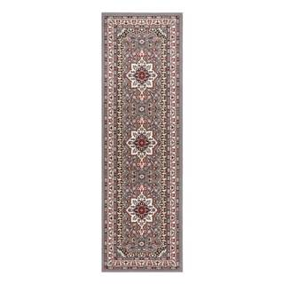 Sivý koberec Nouristan Parun Tabriz, 80 x 250 cm