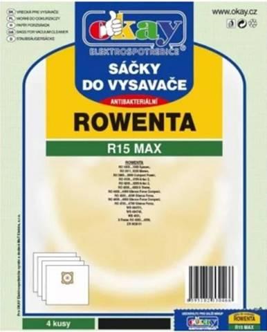 Vrecká do vysávača Rowenta R15MAX, antibakteriálne, 4ks