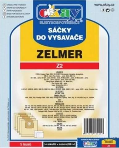 Vrecká do vysávača Zelmer Z2, 5ks
