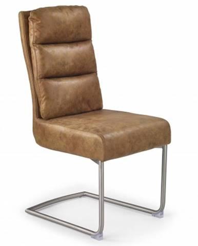 Jedálenská stolička K207 hnedá