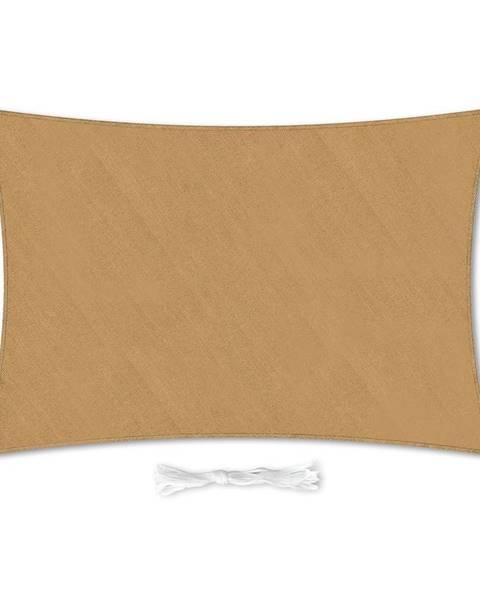 Blumfeldt Blumfeldt Obdĺžniková slnečná clona, 3 × 4 m, s upevňovacími krúžkami, polyester, priedušná