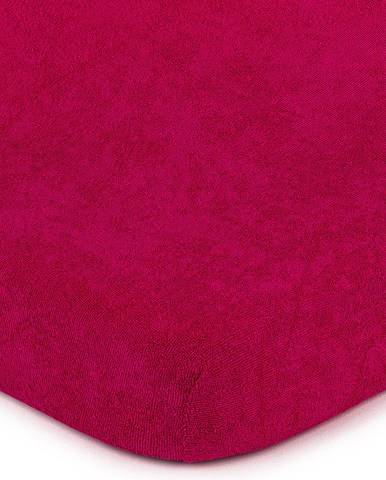 4Home froté prestieradlo ružová, 90 x 200 cm