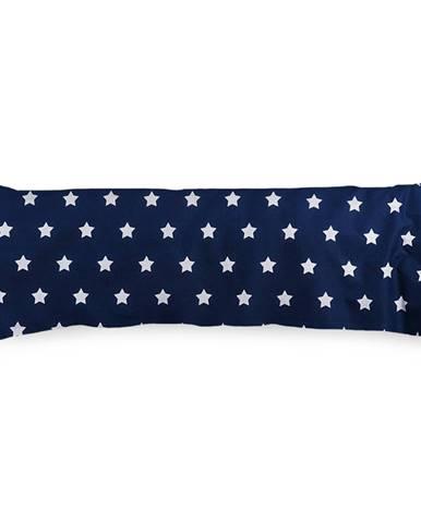 4Home Obliečka na Relaxačný vankúš Náhradný manžel Stars Navy Blue, 55 x 180 cm