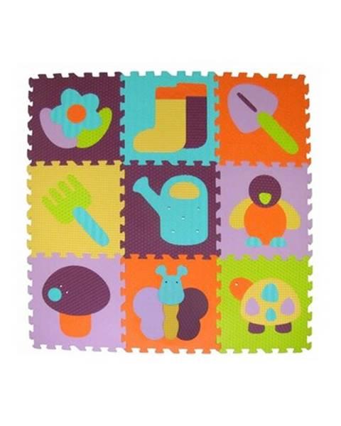 Rabalux Baby Great Penové puzzle Farebná záhradka SX (30x30)
