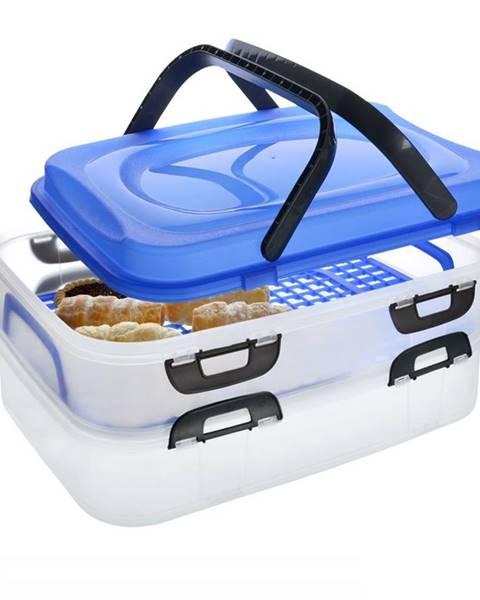 Orion Prenosný box na potraviny, 2 poschodia