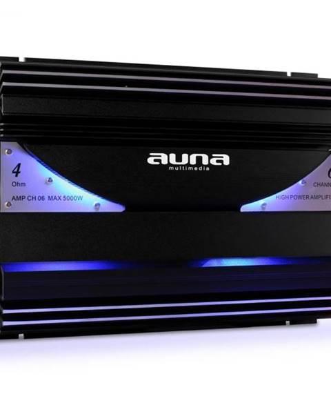 Auna 6-kanálový auto zosilňovač Auna AMP-CH06,5000 W