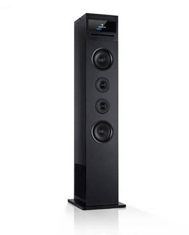 Auna Karaboom 100 Wifi, vežový reproduktor, internetové rádio, DAB+, BT, 120 W, čierny