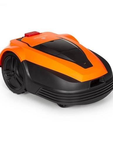 Blumfeldt Garden Hero, robotická kosačka, 5,2 Ah, akumulátorová prevádzka, do 1200 m², oranžová