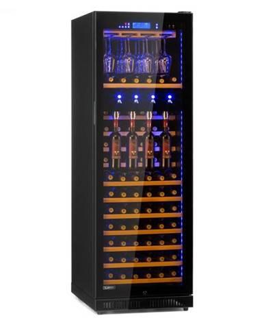 Klarstein First Class 129, vinotéka s dávkovačom, 5 – 22 °C, čierna