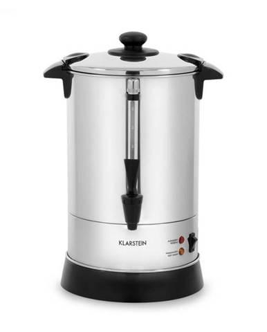 Klarstein Excelsa, kávovar s okrúhlym filtrom, 30 šálok, výpustný kohútik, ušľachtilá oceľ