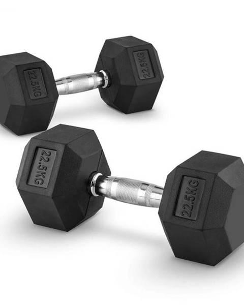 Capital Sports Capital Sports Hexbell 22.5 Dumbbell, pár jednoručných činiek, 22.5 kg
