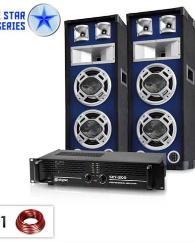 """Electronic-Star ,,Bassboom"""", 1600W, PA set zo série Blue Star"""