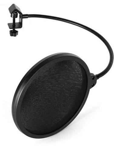 Auna Pro POP-1, pop filter, protiveterná ochrana, čierny