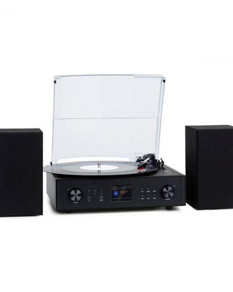 Auna Auna Connect Vinyl, smart rádio, gramofón, 2 reproduktory, 20 W max., internet/DAB+