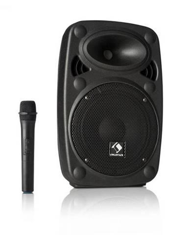 "Auna Pro Streetstar 8, mobilný PA systém, 8"" (20 cm) woofer, UHF mikrofón, 200 W max."
