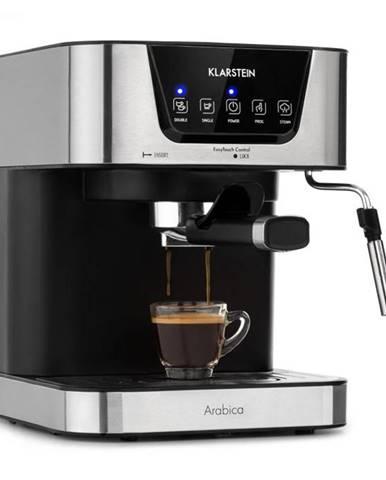 Klarstein Arabica, espresso kávovar, 1050W, 15 barov, 1,5l, dotykové ovládanie, ušľachtilá oceľ