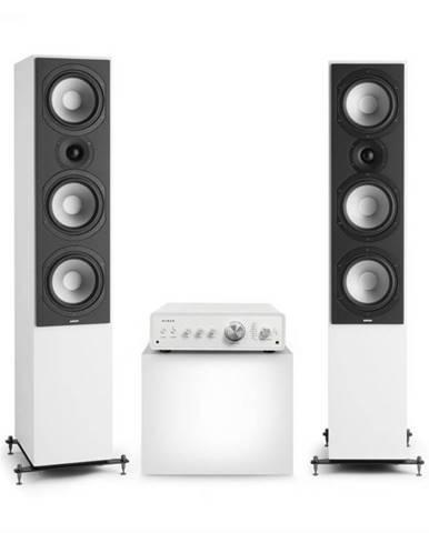 Numan Drive 801, stereo sada, stereo zosilňovač, vežový reproduktor, biela/biela