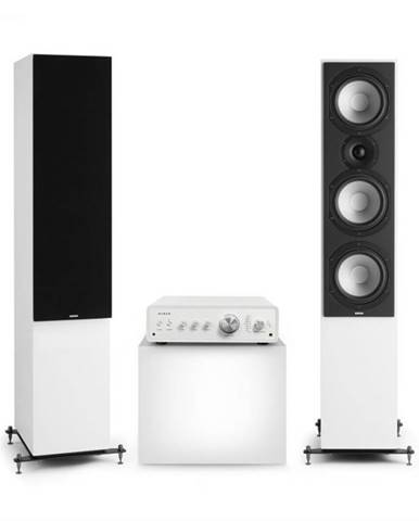 Numan Drive 801, stereo sada, stereo zosilňovač, vežový reproduktor, biela/čierna