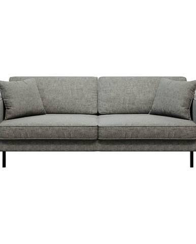 Sivá pohovka MESONICA Kobo, 207 cm