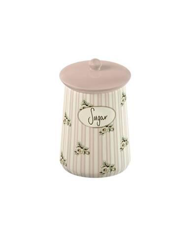 Porcelánová dóza na cukor Cottage Flower