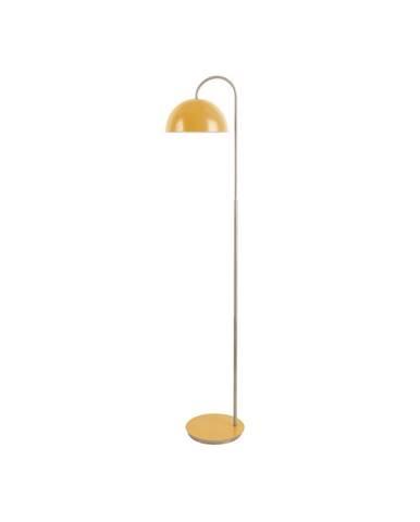 Stojacia lampa v žltej farbe Leitmotiv Decova