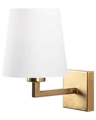 Nástenné svietidlo v bielo-zlatej farbe Opviq lights Profil