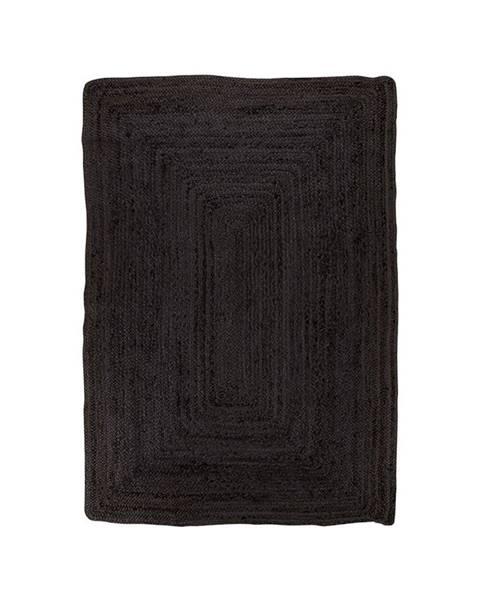 House Nordic Čierny koberec HoNordic Bombay Rug, 90 x 60 cm