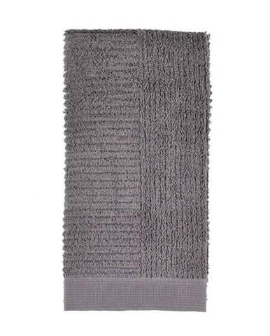 Sivý uterák Zone One, 50x100cm