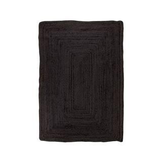 Čierny koberec HoNordic Bombay Rug, 90 x 60 cm