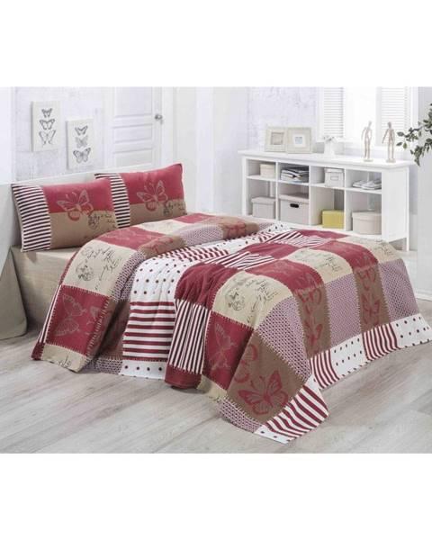 Victoria Ľahká prešívaná bavlnená prikrývka cez posteľ Victoria Butterfly, 140×200 cm