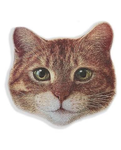 Dekoratívny vankúš z mikrovlákna Really Nice Things Cat Face